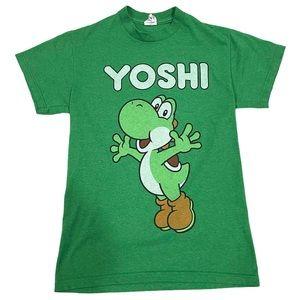 Delta Yoshi Short Sleeve Shirt Green Size S